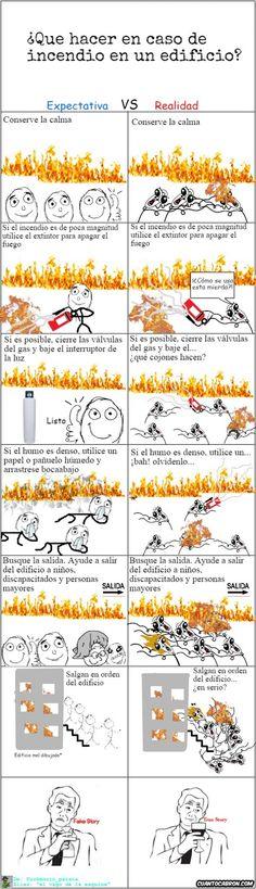 Omg_run - ¿Qué hacer en caso de incendio?
