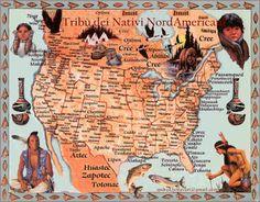 Cultura: Culture e tribù dei Nativi Nord Americani, gl'Indi...
