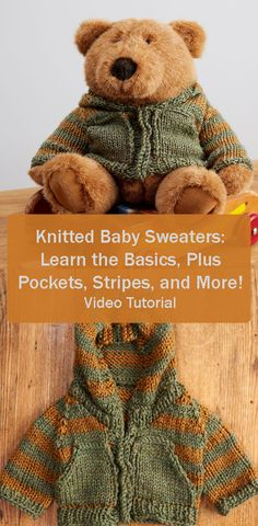 A cute alternative to the traditional baby blanket! Knit this customizable baby sweater as a gift to expecting parents. After the baby outgrows the sweater, it can be worn by baby's best friend for years to come! Video tutorial.