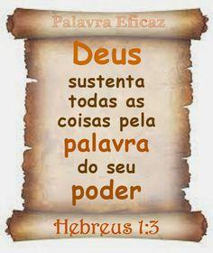 Palavra e Ação : Hebreus 1 Comentários: Pr. Heber Toth Armí