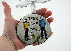 Star Trek Ornament @Michael Dussert Dussert McCoy