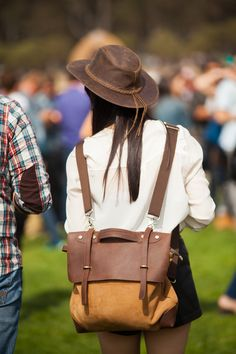 30+ Stylish Folks Spotted At Outside Lands #refinery29  http://www.refinery29.com/outside-lands-street-style#slide7  An outfit made for exploring Golden Gate Park.