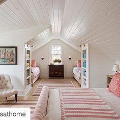Unutterable Attic bedroom windows,Attic renovation ideas and Attic remodel birmingham. Bunk Rooms, Attic Bedrooms, Home Bedroom, Bonus Room Bedroom, Girls Bedroom, Master Bedroom, Shared Bedrooms, Master Suite, Attic Renovation