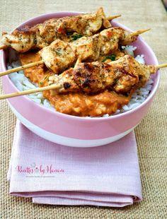Le poulet Tikka massala est un des plus célèbres plats de la cuisine indienne, comme vous le savez je suis fan de cette spécialité, et j'adore tous ces parfums d'épices qui se dégagent lors de la cuisson et qui embaument toute la maison. Ici j'ai servi...