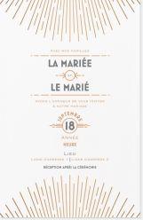 Invitations mariage - Invitations et faire-part