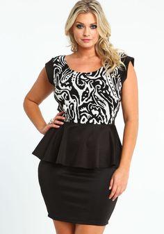 Taupe Chevron Maxi Skirt, TAUPE | Plus Size Fashions | Pinterest ...