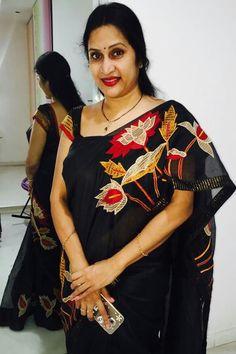 Madhuri Atluri saree