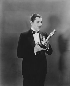 """2nd Academy Awards - April 3, 1930. Warner Baxter (1889-1951), Academy Award for Best Actor for """"In Old Arizona"""" (1929)"""