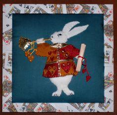 Alice in wonderland 'White Rabbit'.