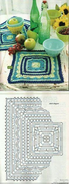 Transcendent Crochet a Solid Granny Square Ideas. Inconceivable Crochet a Solid Granny Square Ideas. Crochet Video, Crochet Diy, Crochet Motifs, Crochet Blocks, Crochet Pillow, Crochet Diagram, Crochet Stitches Patterns, Crochet Chart, Crochet Squares