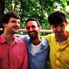 Mike, Marcelo & Maz