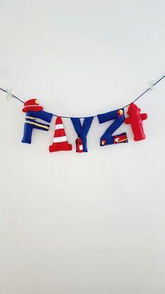 Fireman Theme name banner
