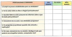 Modelos de autoavaliação Professional Resume Template, Teachers' Day, Templates