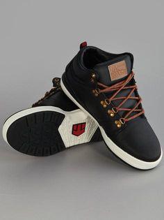 Etnies High Rise Odb LX Black #Etnies #Sneakers