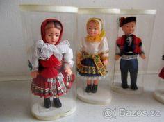 Retro panenky krojované - 1