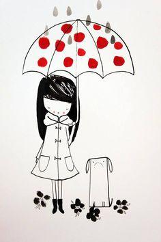 """Jillian Phillips (Jilly P Studo), """"Rainy Day 1"""""""
