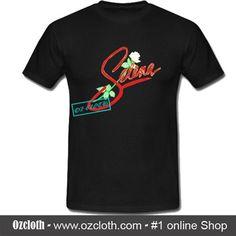 Selena Logo With Rose T-Shirt