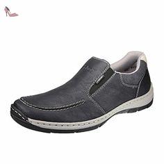 Rieker  15260-01, Mocassins pour homme - noir - Schwarz, 45 EU - Chaussures rieker (*Partner-Link)
