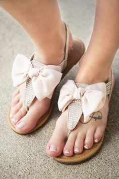Skylar Bow Sandal - Nude You will adore these ultra comfy and bow sandals! They're neutral so you know they'll go with any of your RaeLynn's summer outfits! Dress them up, dress them down, either way you can't go wrong! Click Add to My Cart now, before we sell out!