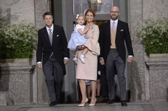 Princess Madeleine holding her daughter, Princess Leonore