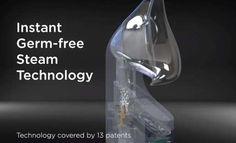 Mypurmist 2 - handheld ultrapure steam inhaler Lava Lamp, Health, Health Care, Salud