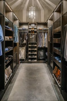 [divide] Here is a look at some lavish walk-in closets! Out of the 20 pictured above, which one is your favorite? CLICK HERE TO VIEW MORE