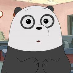 Foto Cartoon, Bear Cartoon, Cartoon Icons, Cartoon Art, We Bare Bears Wallpapers, Panda Wallpapers, Cute Cartoon Wallpapers, Cute Panda Wallpaper, Bear Wallpaper