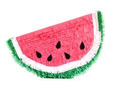Cómo hacer una piñata Sandía // Watermelon Pinata DIY