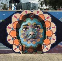 Street Art by Decertor, located in Lima, Peru