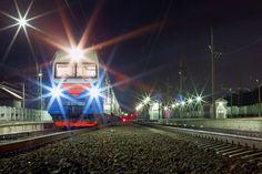 Ночная железнодорожная жизнь