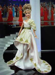 12.33.3 qw  barbie doll evening dresses