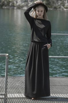 Sukienka damska Sukienka GREY DAY 4e8471, od projektanta INTENSI   Mustache.pl