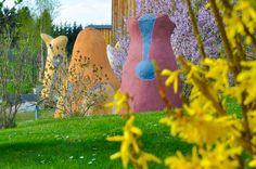 Der Skulpturen-Erlebnispark des Kunstmuseum Waldviertel in Schrems Lily Pulitzer, Art Museum, Woodland Forest, Fantasy, Sculptures, Lilly Pulitzer