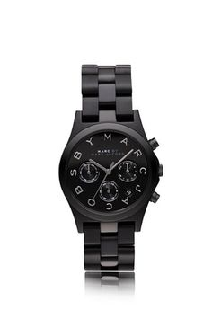 Marc by Marc Jacobs. This is watch is my dream, but hopefully they at least have an all black watch at Target?