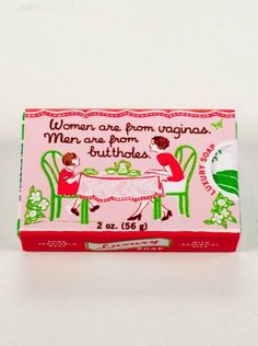 Quirky Hand Soap - Women Are From Vaginas from TUSK homewares
