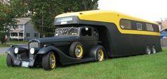 1935PontiacCamper Vintage Trailers, Vintage Cars, Antique Cars, Custom Campers, Custom Trucks, Custom Trailers, Cool Trucks, Big Trucks, Pickup Trucks