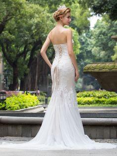 Ericdress Amazing Sweetheart Lace Mermaid Wedding Dress 2