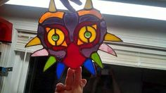 stained glass majora's mask