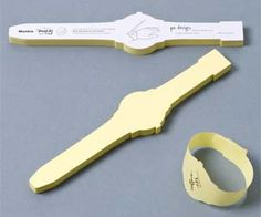 Wrist Watch Post It Notes. Perfect! so you never have to write reminders on your hands :)