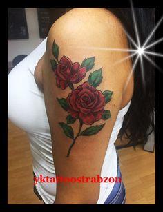 rose tattoo desing