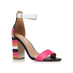 Ebony Multi-coloured High Heel Sandals from Miss KG
