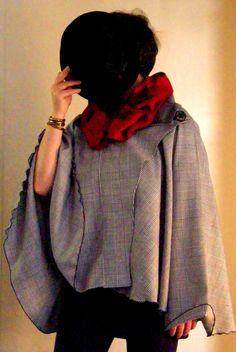 Items similar to Made to order in any size, unisex Sherlock Holms Cape on Etsy Sherlock, Custom Made, Cape, Ruffle Blouse, Unisex, My Favorite Things, Etsy, Women, Fashion