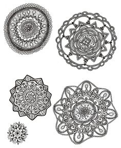 How are zentangles different than mandalas?