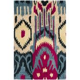Found it at AllModern - <strong>Safavieh</strong> Ikat Beige & Blue Area Rughttp://www.allmodern.com/Safavieh-Ikat-Beige-and-Blue-Area-Rug-IKT466A-FV24072.html?refid=SBP