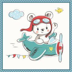Fabric Galleries Cartoon Drawings, Animal Drawings, Cartoon Art, Cute Drawings, Nursery Drawings, Nursery Art, Cartoon Girl Images, Baby Cartoon, Baby Clip Art