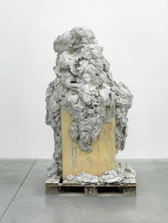 ANISH KAPOOR Untitled Cement  wood and steel