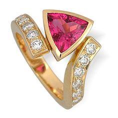 #Tourmaline #Ring by Andrew Leggett http://www.fldesignerguides.co.uk/engagement-ring-designer/andrew-leggett