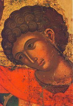 Άγιος Γεώργιος / Saint George Byzantine Icons, Byzantine Art, Religious Images, Religious Art, Face Icon, Russian Icons, Religious Paintings, High Art, Saint George