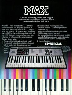 Advertising for a Sequential Circuits MAX.