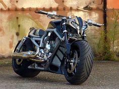 ♠ Harley V-Rod custom #Bike #Motorcycle